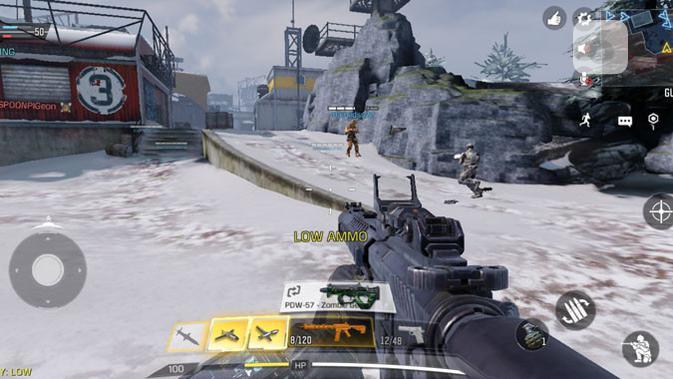 Call of Duty Mobile di Galaxy A11. (Liputan6.com/ Yuslianson)