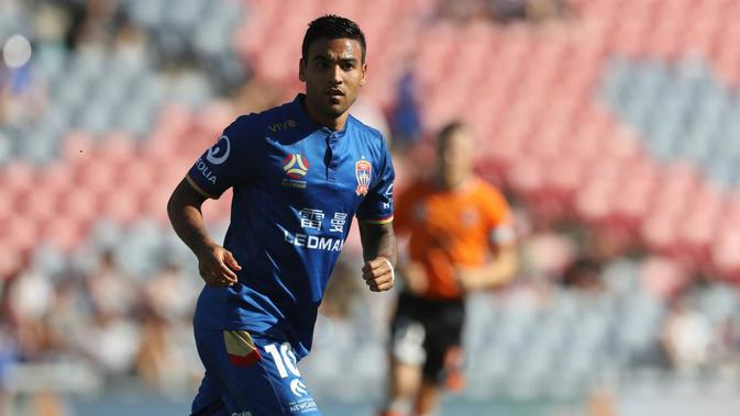Gelandang Newcastle Jets, Ronald Vargas. (dok. Newcastle Jets)