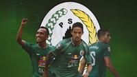 PS Sleman - Irfan Jaya, Irfan Bachdim, Fabiano Beltrame (Bola.com/Adreanus Titus)