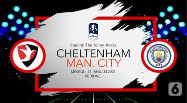 PREDIKSI Cheltenham Town vs Manchester City