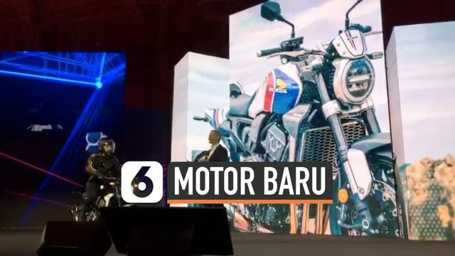 Honda meluncurkan 5 model baru di ajang EICMA Milan Italia hari Senin (04/11). Kelima model itu diproyeksikan mulai beredar di pasaran tahun 2020.