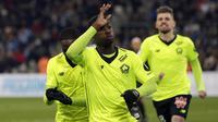 9. Nicolas Pepe (Lille) - 15 Gol. (AP/Claude Paris)