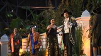 Taman Indonesia Kaya menampilkan pementasan teater rakyat 'Misteri Sang Pangeran'. (dok. Taman Indonesia Kaya/Liputan6.com)
