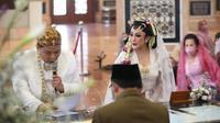 Nabila Gomes resmi menikah dengan Muhammad Reza (Liputan6.com/Budi Santoso)