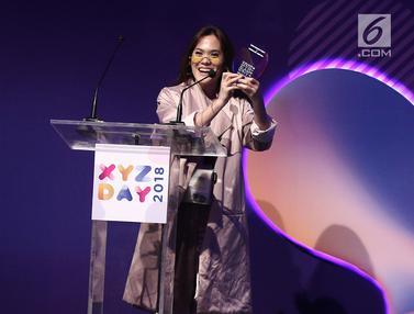 Sherly Sheinafia Sabet Penghargaan Best Creator For Music di XYZ Day 2018