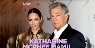 Katharine McPhee Hamil Anak Pertama dari David Foster