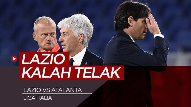 Berita Video highlights Liga Italia, Lazio dikalahkan Atalanta dengan skor telak 1-4