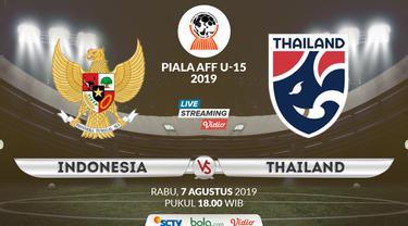 Indonesia U-15 vs Thailand U-15