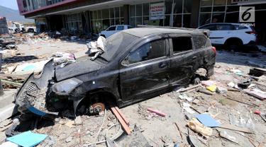 Menyedihkan, Begini Potret Mobil Korban Gempa Palu yang Dijarah