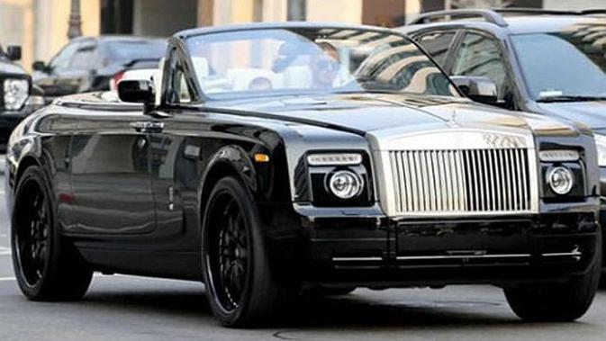 David Beckham - Rolls-Royce Phantom (Rp 6 miliar) (istimewa)