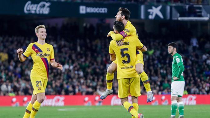 Link Live Streaming Liga Spanyol Real Betis vs Barcelona ...