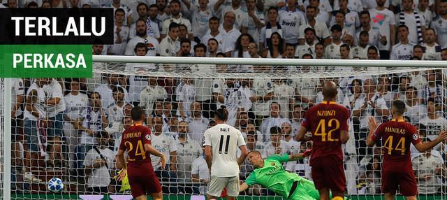 Berita video statistik yang memperlihatkan Real Madrid terlalu perkasa bagi AS Roma dalam lanjutan Liga Champions 2018-2019, Rabu (19/9/2018).