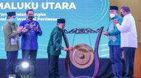 Wakil Ketua DPR RI Bidang Korkesra, Abdul Muhaimin Iskandar atau Gus AMI saat menghadiri Regional Meeting Kawasan Teluk Tomini dan Maluku Utara di Gorontalo, Sabtu, 12 Juni 2021.