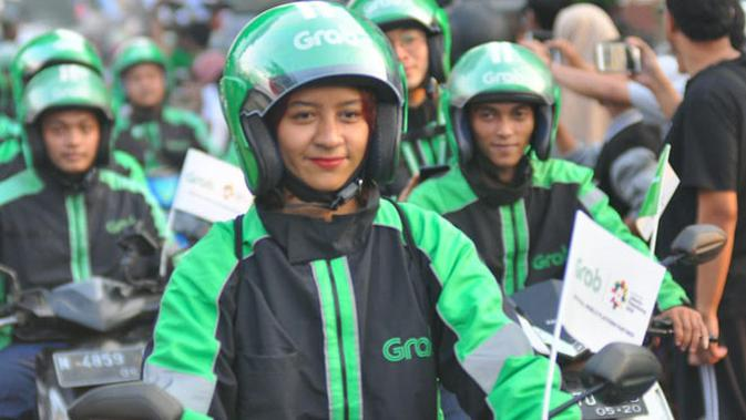 Driver Grab Bike Malang
