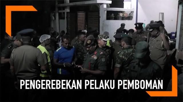 Penggerebekan pelaku bom Sri Lanka menewaskan 15 orang.