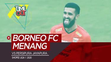 Berita video Time Out kali ini membahas kemenangan Borneo FC atas Persipura 2-0 pada pekan kedua Shopee Liga 1 2020.