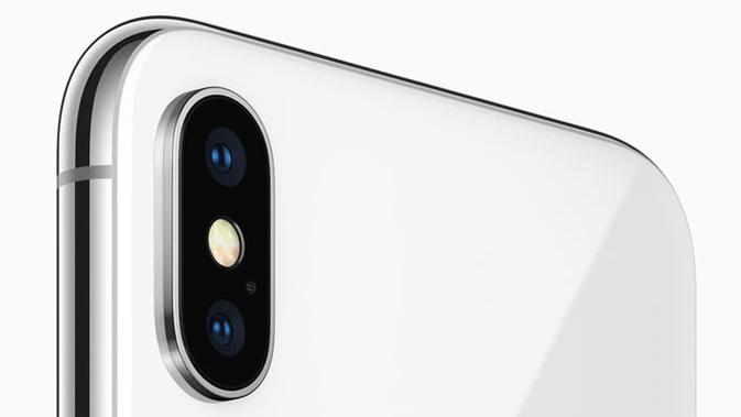 iPhone X usung kamera ganda dengan teknologi Optical Image Stabilization di kedua lensa. (Doc: Apple)
