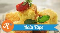 Tutorial Kuliner: Kue Bolu Tape (Foto: Kokiku Tv)