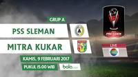 Piala Presiden 2017_PSS Sleman Vs Mitra Kukar (Bola.com/Adreanus Titus)