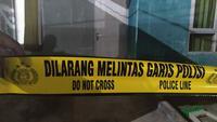 Ilustrasi Garis Polisi. (Liputan6.com/Achmad Sudarno)
