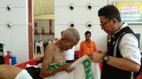 Jemaah Calon Haji Indonesia Kloter 2 Belum Berihram. (MCH Indonesia)