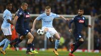 5. Kevin De Bruyne (Manchester City) - Gelandang.(AP/Dave Thompson)