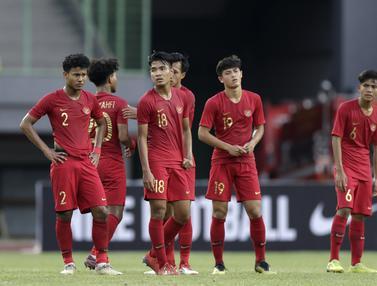 FOTO: 6 Gol Tercipta, Timnas Indonesia U-19 Takluk dari Iran U-19