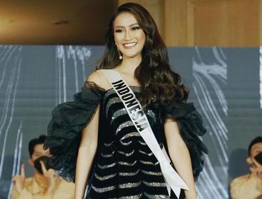 FOTO: Gaya Ayu Maulida Putri dengan Gaun Hitam, Tampil Elegan