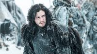 Aktor Kit Harington di serial Game of Thrones. (HBO)