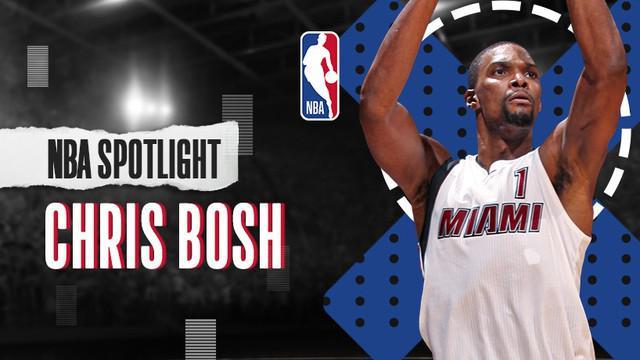 Berita Video NBA Spotlight, Perjalanan Karier Legenda Miami Heat, Chris Bosh