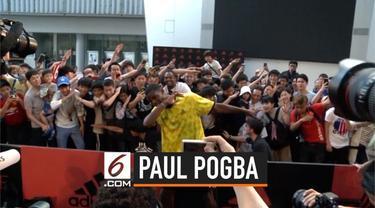 Paul Pogba akhirnya angkat suara soal kelanjutan nasibnya di Manchester United.