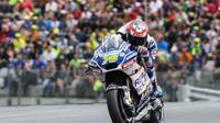 Setelah tiga musim berkarier di MotoGP, Loris Baz akan berkarier di World Superbike (WSBK) 2018. (Jure Makovec / AFP)