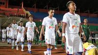 Persela jelang pertandingan di Liga 1 2018. (Bola.com/Aditya Wany)