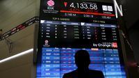 Bursa Asia (REUTERS/Beawiharta)