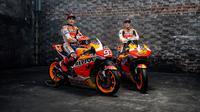 Pembalap Repsol Honda, Marc Marquez, menegaskan hanya akan kembali ke lintasan saat kondisinya sudah benar-benar pulih 100 persen. (dok. Repsol Honda)