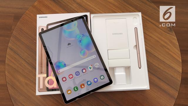 Kelengkapan Samsung Galaxy Tab S6