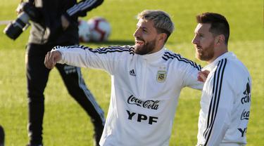 Menengok Persiapan Messi Cs Jelang Hadapi Brasil