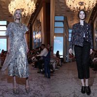 Ronauli Liu dan Xalvar fashion presentation. (Istimewa)