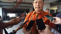Kepala Kejaksaan Tinggi Sulsel, Tarmizi menegaskan harus ada yang bertanggungjawab dalam dugaan korupsi pengelolaan anggaran di lingkup PD Parkir Makassar Raya (Liputan6.com/ Eka Hakim)