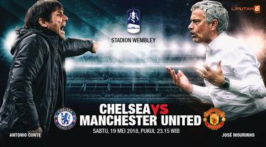 Prediksi Chelsea vs Manchester United, Piala FA