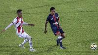 Gelandang Selangor FA, Evan Dimas, saat tampil melawan Kuala Lumpur FA di Stadion KLFA, Kuala Lumpur, Minggu (4/2/2018). (Bola.com/Vitalis Yogi Trisna)