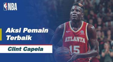 Berita Video Deretan Aksi Clint Capela yang Berhasil Bawa Atlanta Hawks Menang atas San Antonio Spurs di NBA Hari Ini