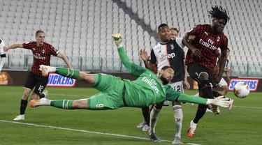 FOTO: Tahan Imbang AC Milan, Juventus Lolos ke Final Coppa Italia