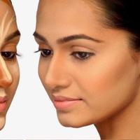 Ilustrasi contouring wajah. (Sumber foto: Pinterest.com)