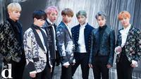 Seperti yang dikabarkan Naver, lagu tersebut mendapatkan sertifikat emas dari Recording Industry Association of America. Tentu saja hal ini membuat nama BTS semakin bersinar. (Foto: koreaboo.com)