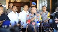 Kapolda Jatim Irjen Pol Luki Hermawan menyampaikan bahwa pihaknya saat ini sudah mengembangkan penyidikan transaksi keuangan tersangka Veronica Koman (Liputan6/Dian Kurniawan)