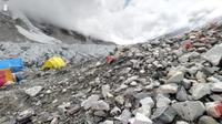 Gunung Everest. (Google Street View)