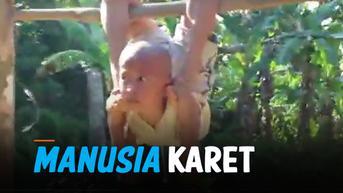VIDEO: Viral Bocah Manusia Karet dari Pulau Nias