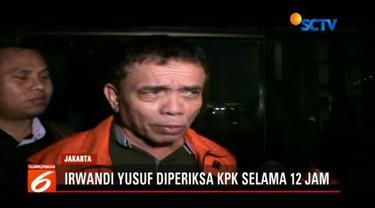 Irwandi mengaku jika penyidik KPK memberikan banyak pertanyaan dalam kasus kegiatan Aceh Marathon.