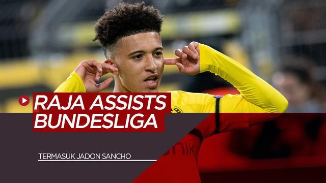 Berita Video tentang Termasuk Jadon Sancho, Berikut 5 Raja Asissts Bundesliga Musim 19/20